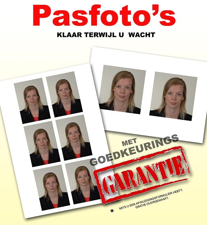 pasfotos met goedkeuringsgarantie foto swager