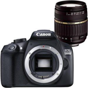 Canon EOS 1300D + Tamron 18-200 af XR